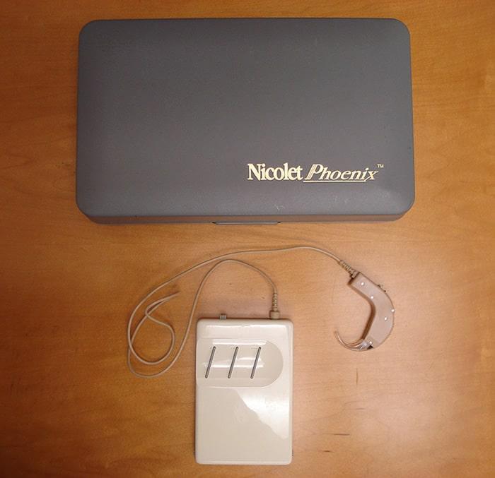 Nicolet Phoenix digital hearing aid